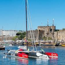 Gite Brest -Au bout du ponton et son château