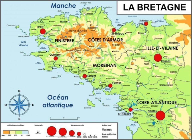 """Comment aller aux locations de vacances, gites Brest """"Au bout du ponton"""" ou à la maison des gardiens de l'océan à la pointe du Finistère ?"""