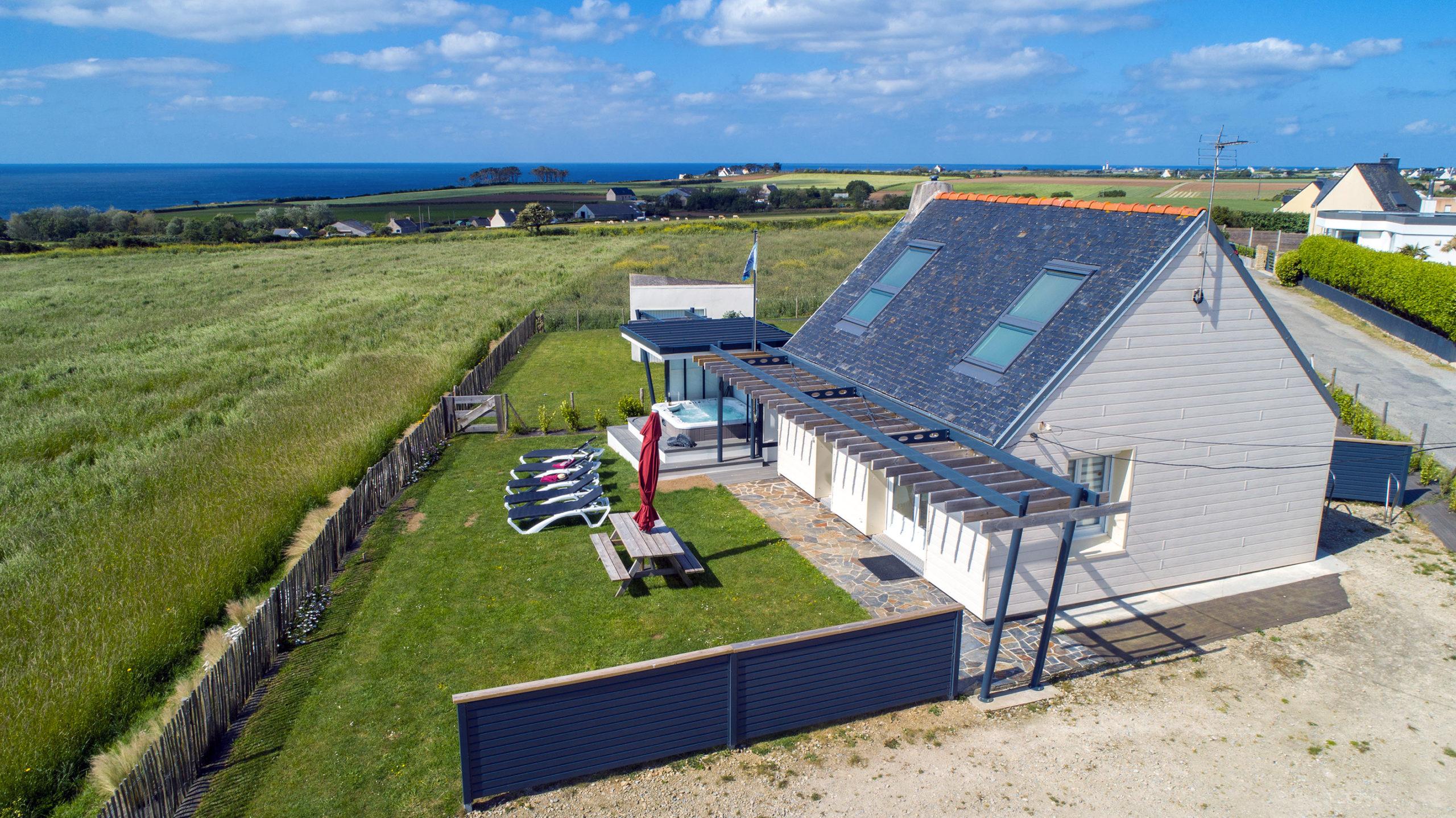 La maison des gardiens de l'océan avec spa - gite Plougonvelin